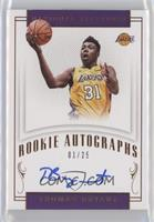 Rookie Autographs - Thomas Bryant #/25