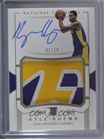 Rookie Patch Autographs - Kyle Kuzma /10