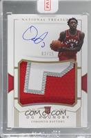 Rookie Patch Autographs - OG Anunoby [Uncirculated] #/15