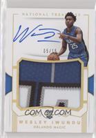 Rookie Patch Autographs - Wes Iwundu /15