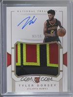 Rookie Patch Autographs - Tyler Dorsey #3/15