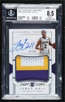 Rookie Patch Autographs - Lonzo Ball [BGS8.5NM‑MT+] #/99