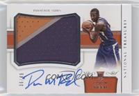 Rookie Patch Autographs Horizontal - Davon Reed #36/49