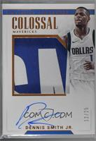 Dennis Smith Jr. [Noted] #/25