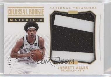 2017-18 Panini National Treasures - Colossal Rookie Materials - Prime #CRM-15 - Jarrett Allen /25 [Noted]