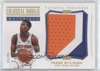 Frank Ntilikina #/25
