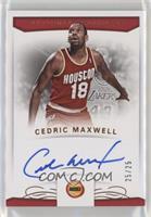 Cedric Maxwell #/25