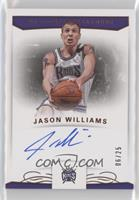 Jason Williams #/25