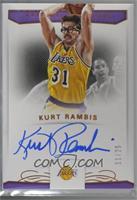 Kurt Rambis [Noted] #/25