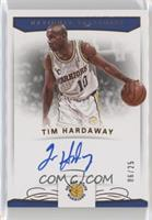 Tim Hardaway #/25