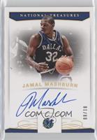 Jamal Mashburn #/10