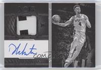 Autographed Prime Rookies Black and White - Derrick White #/99