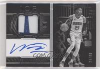 Autographed Prime Rookies Black and White - Wes Iwundu #/99