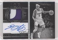 Autographed Prime Rookies Black and White - De'Aaron Fox /99