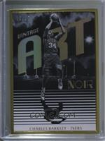 Rookies Metal Frame Vintage Art - Charles Barkley [Noted] #/25