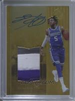 Rookie Patch Autographs - De'Aaron Fox /79