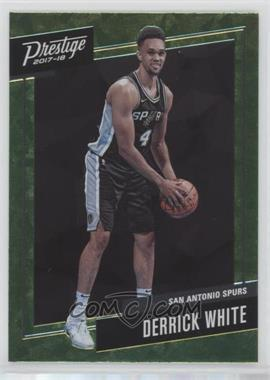 2017-18 Panini Prestige - Micro Etch Rookies - Bright Green #28 - Derrick White