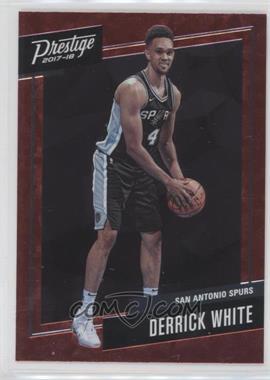 2017-18 Panini Prestige - Micro Etch Rookies - Red #28 - Derrick White