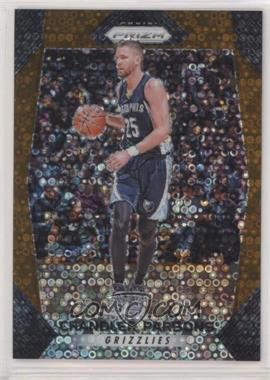 2017-18 Panini Prizm - [Base] - Fast Break Bronze Prizms #206 - Chandler Parsons /20