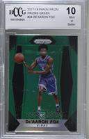 De'Aaron Fox [BCCG Mint]