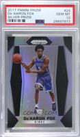 De'Aaron Fox [PSA 10 GEM MT]