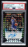 De'Aaron Fox [PSA 9 MINT] #/25