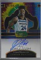 Justin Patton [Noted] #/25
