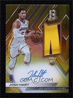 Rookie Jersey Autographs - Josh Hart [EXtoNM] #/10