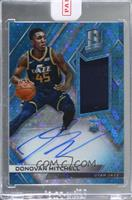 Rookie Jersey Autographs - Donovan Mitchell [Uncirculated] #/99