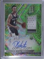 Rookie Jersey Autographs - Derrick White #/49