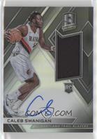 Rookie Jersey Autographs - Caleb Swanigan #/299