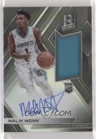 Rookie Jersey Autographs - Malik Monk /299