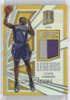 Chris Webber #/10