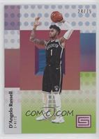 D'Angelo Russell #/75