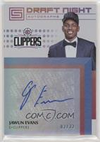 Jawun Evans [Noted] #/32