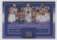 Kevin Durant, Stephen Curry, Klay Thompson /149