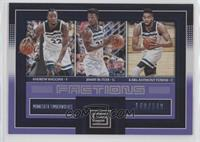 Andrew Wiggins, Jimmy Butler, Karl-Anthony Towns /149