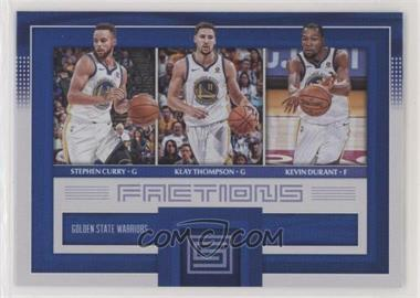 2017-18 Panini Status - Factions #10 - Stephen Curry, Klay Thompson, Kevin Durant