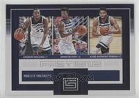 Andrew Wiggins, Jimmy Butler, Karl-Anthony Towns