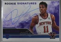 Rookie Signatures - Frank Ntilikina [Noted] #/49