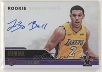 Rookie Signatures - Lonzo Ball #/99