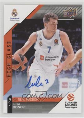 2017-18 Upper Deck Euroleague - [Base] - Autographs [Autographed] #1 - Luka Doncic