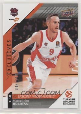 2017-18 Upper Deck Euroleague - [Base] - Exclusives #71 - Marcelinho Huertas /100
