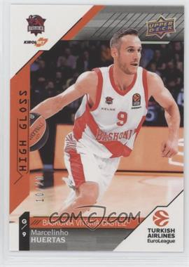 2017-18 Upper Deck Euroleague - [Base] - High Gloss #71 - Marcelinho Huertas /20