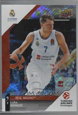 2017-18 Upper Deck Euroleague - [Base] - Rainbow #1 - Luka Doncic