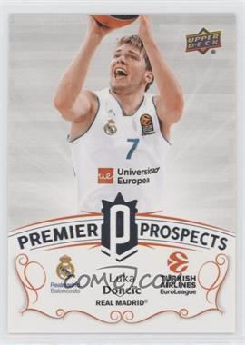 2017-18 Upper Deck Euroleague - Premier Prospects #PP-1 - Luka Doncic