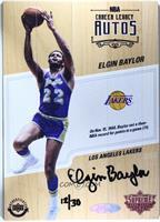 Elgin Baylor #/30