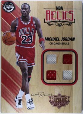 2017-18 Upper Deck Supreme Hardcourt - NBA Relics #NBAR-MJ - Michael Jordan