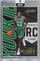 Rookies - Robert Williams III [Uncirculated]