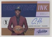 Aaron Holiday #/125